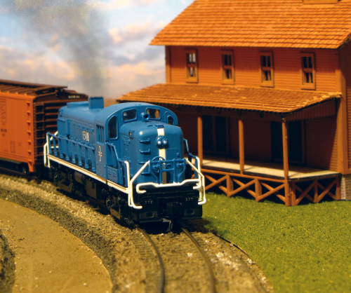 New England Depot: The Not Quite Model Railroad