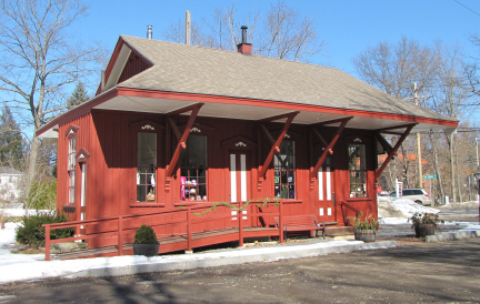 New England Depot Structures Ma